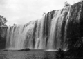 Queensland State Archives 1309 A close up of Millstream Falls c 1935.png