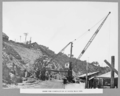 Queensland State Archives 3144 Crane for construction of north main pier Brisbane 17 January 1936.png