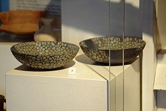 Millefiori - Roman era millefiori style bowls in Museum Höfli, Bad Zurzach