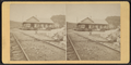 R.R. Depot at Rosendale, N.Y, by D. J. Auchmoody.png