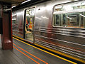 R68 subway car at 34 St Herald Square.jpg