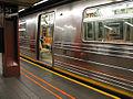 R68 subway car at 34 St Herald Square.jpg