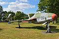 RF-84F Thunderflash & F-104G Starfighter. Schleswig-Jagel Main Gate (14345538420).jpg