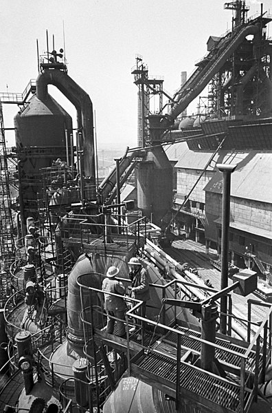 Blast Furnace Construction : File rian archive construction of second blast