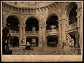 Radcliffe Camera, Oxford; interior showing classical scupltu Wellcome V0014209.jpg