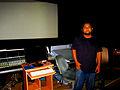 Rahi Ali Chakraborty at A.R.Rahman's AM Studios Chennai 2013.jpg