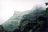 Raigad fort long view