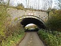 Rail bridge on Wagg Drove, Huish Episcopi, Somerset 05.jpg