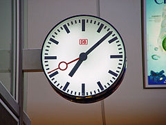 RailwayStationClock