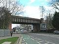 Railway bridge over Anlaby Road (B1231) - geograph.org.uk - 1774477.jpg