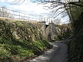 Railway overbridge, near Fishacre - geograph.org.uk - 1237455.jpg