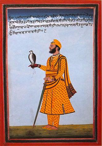 Jind State - Raja Sangat Singh