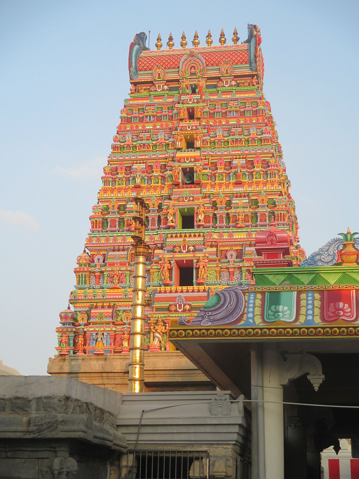 Ranganathaswamy temple, Karamadai - Wikipedia