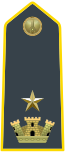 Rank insignia of maggiore of the Guardia di Finanza.svg