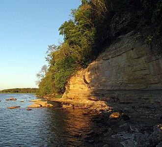 Harku Parish - Image: Rannamõisa cliff, 2011 06