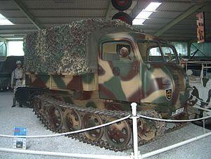 Raupenschlepper, Ost - RSO/01, Sinsheim Auto & Technik Museum (2004)