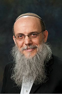Official picture of rav Baruch Gigi
