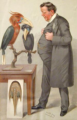 Ray Lankester - Ray Lankester by Leslie Ward, Vanity Fair 1905.