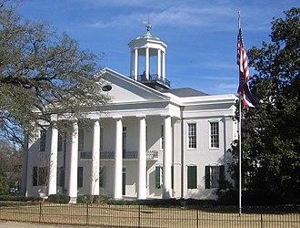 Raymond, Mississippi - Image: Raymond Courthouse