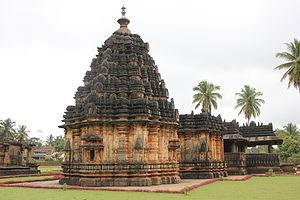 Vikramaditya VI - Kaitabheshvara temple (c.1100) at Kubatur