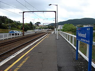 Redwood railway station railway station