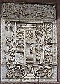 Relief on outside of the Cathedral of Cusco I.JPG
