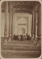 Religious Ceremonies and Customs of Tajiks. Mosque Interior of the Holy Sheik Maslakhatdin in Khodzhend. WDL2513.png