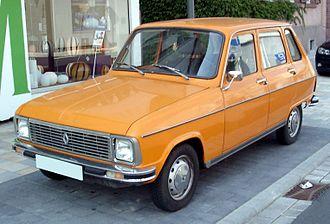 Renault 6 - 1974-1980 facelift model