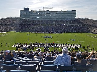 Connecticut Huskies football - Rentschler Field in 2017