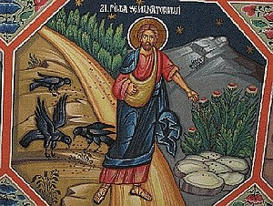 English: An icon depicting the Sower. In Sts. ...