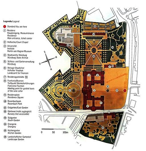 Residenz Würzburg Plan