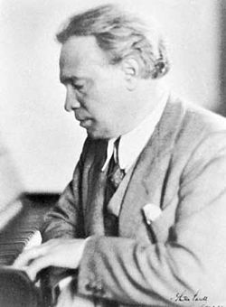 Ottorino Respighi 1935-ben (Madeline Grimoldi fényképe)