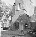 Restauratie Engelse kerk aan Begijnhof. Opdracht Trouw. Exterieur, Bestanddeelnr 913-1046.jpg