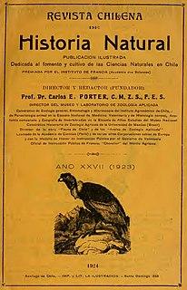 <i>Revista Chilena de Historia Natural</i> Academic journal