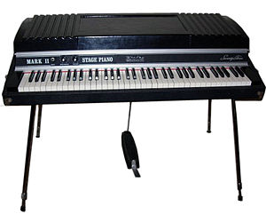 Rhodes piano - A Rhodes Mark II