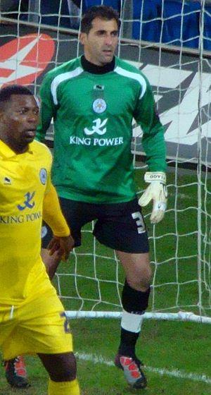 Ricardo (footballer, born 1976) - Ricardo (right) and Yakubu playing for Leicester City