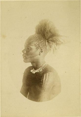 Bari people - Late 1870s portrait of Bari man