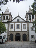 Fachada da igreja do Mosteiro de S�o Bento, Rio