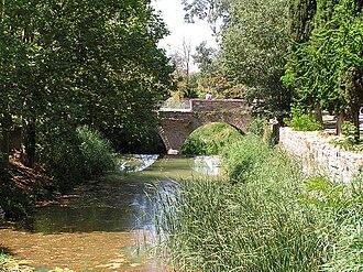 Corb (river) - The Corb at Vallfogona de Riucorb