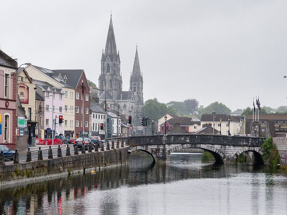 River Lee and St. Fin Barer's Cathedrale