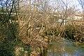 River Wolf and A30 road bridge south of Broadwoodwidger - geograph.org.uk - 1701132.jpg