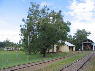 Pine Creek railway station