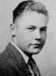 Robert E. Fitzgerald high school yearbook photo, 1941.png