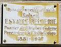 Robert Esnault-Pelterie plaque - 23 rue de Constantine, Paris 7.jpg
