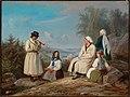 Robert Wilhelm Ekman - The Peasantry from Kurkijoki - A II 847 - Finnish National Gallery.jpg