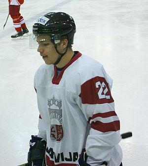 Roberts Lipsbergs - Image: Roberts Lipsbergs, Denmark U20 Latvia U20, 19.12.2013