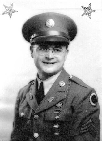 Rodger Wilton Young - Young as a sergeant