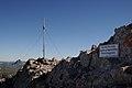 Roggalspitze 2673, Gipfelkreuz 3.JPG