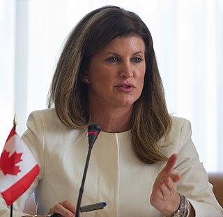 Rona Ambrose Canadian politician