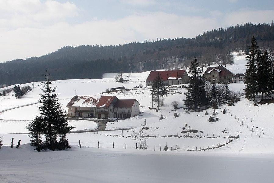 Vue de Rondefontaine (Doubs).
